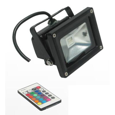 Foco proyector LED exterior / interior RGB